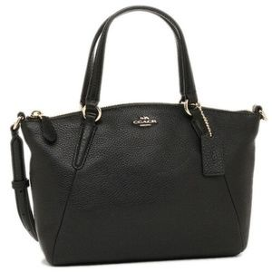 Coach Pebble Leather Kelsey Bag